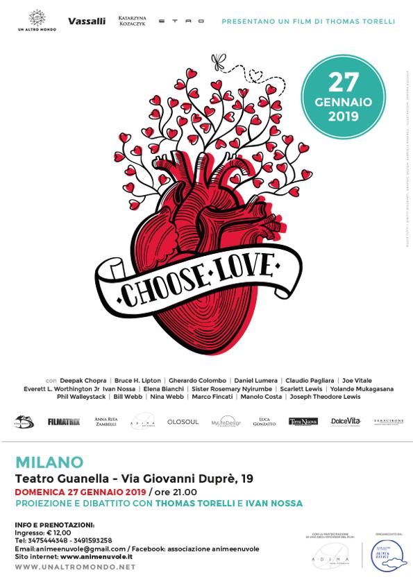 Locandina CHOOSELOVE-Milano 27 gennaio 2019_web